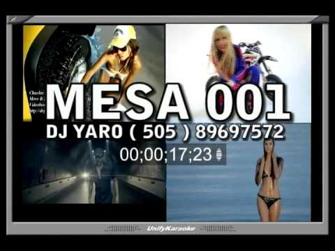 NUMEROS DE MESAS PARA KARAOKE MESA 001