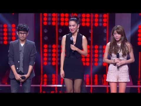 The Voice Thailand - กอล์ฟ VS ฝ้าย - Way Back Into Love - 9 Nov 2014