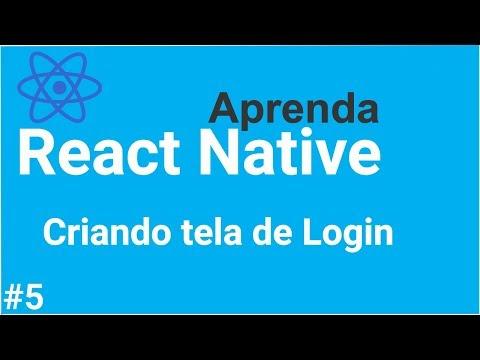 Aprenda #React #Native - Criando tela de login em 10 minutos thumbnail
