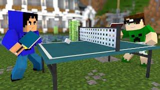 Minecraft: PING PONG NO MINECRAFT! (Tênis de Mesa)
