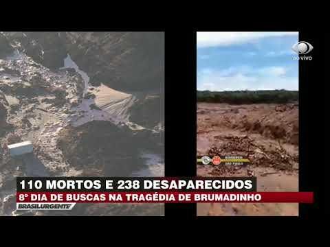 Brumadinho: Soldado se emociona ao encontrar corpo em lama