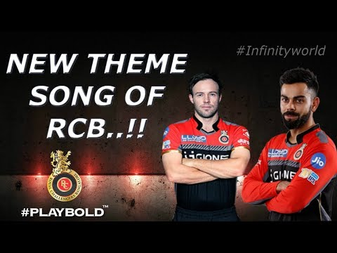 RCB: Theme song with lyrics(2018)