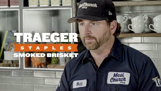 How to Cook Smoked Brisket  Traeger Staples