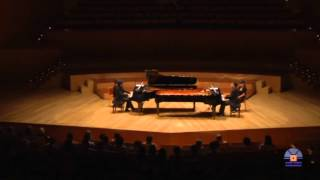 A. Borodin. Polovtsian Dances for two pianos. Moreno Gistain Piano Duo.