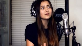 Repeat youtube video Miley Cyrus - Wrecking Ball (Cover by Jasmine Thompson)