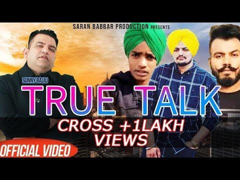Download True Talk (OFFICIAL VIDEO) Sunny Bajaj ~ Saran Babbar Production ~ New Punjabi Song 2019