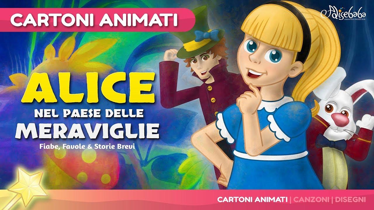 Alice nel paese delle meraviglie storie per bambini for Buonanotte cartoni