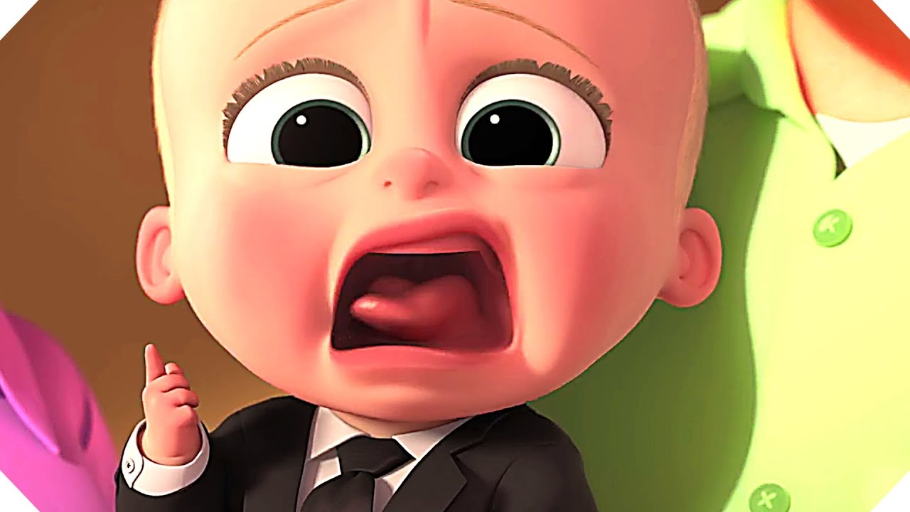 THE BOSS BABY (Animation, 2017) - TRAILER - YouTube Baby Girl Crying Animation