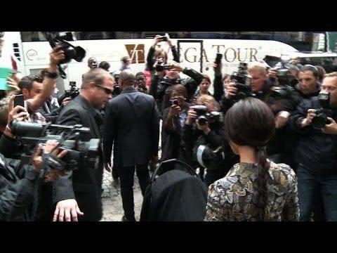 Kim Kardashian, Kanye West in Paris ahead of wedding