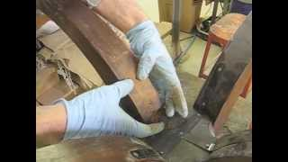 Repairing a Table's Broken Leg - Thomas Johnson Antique Furniture Restoration