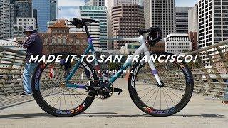 RIDING A FIXED GEAR BIKE THROUGH SAN FRANCISCO!