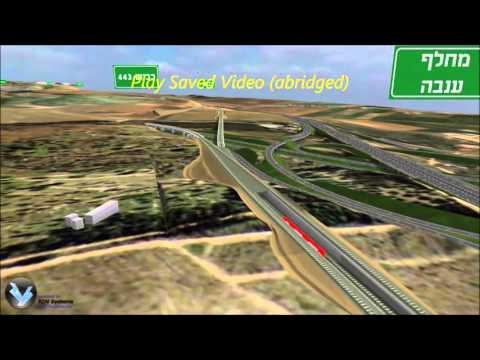 Tel Aviv   Jerusalem High Speed Rail Visualization