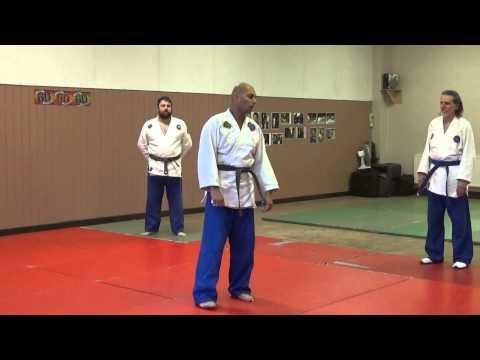 Satwinder Sagoo 1st KYU Grading Brown White Belt Part 1 08 02 2015