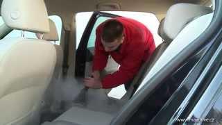 Maxdrive program parní tepování - potřebuji vyčistit sedačky od skvrn a nečistot, čalounění i kůži.