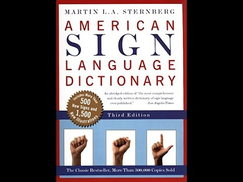 American Sign Language Pdf