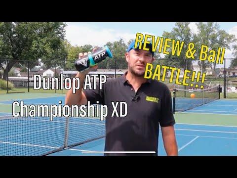 #1 Ball?  Dunlop ATP Tennis Ball Review - Battle V Wilson Championship