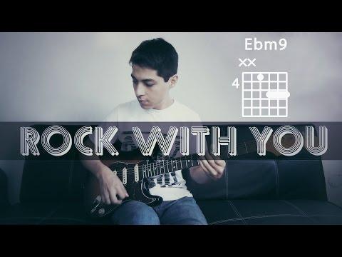 COVER + CHORDS: Rock With You - Michael Jackson (Rhythm guitar - David Williams)