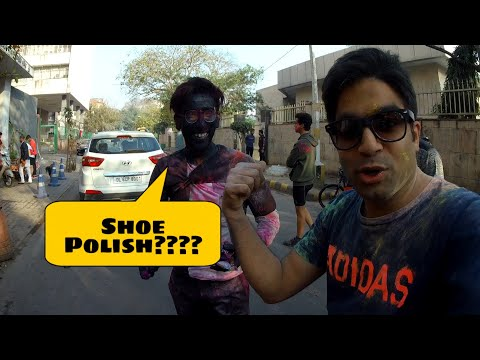 How Holi is Celebrated in STREETS of DELHI 🔥🔥🔥