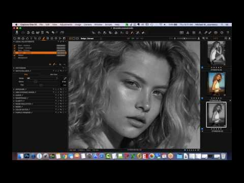 Capture One Pro 10 Webinar | Professional Portrait Retouching with Michael Woloszynowicz