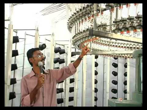 circular  knitting (Tamil ) Yarn feed section