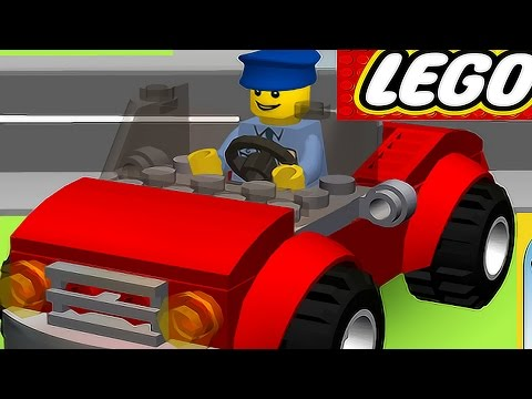 CARTOON LEGO® Juniors Create – Car. Racecar, Truck – Children's game