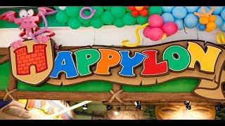 VLOG Празднуем ДЕНЬ ЗАЩИТЫ ДЕТЕЙ в детском развлекательном центре Happylon/ СУПЕР лабиринт