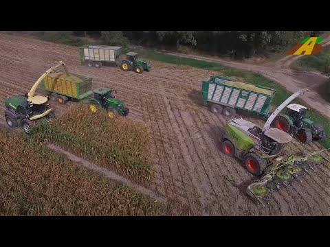 New Krone BIG X 1180 - der stärkste Feldhäcksler der Welt - Einsatz Mais häckseln - Maisernte 2018