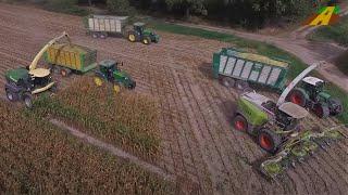 Maishäckseln - KRONE BIG X 1180 stärkster Feldhäcksler der Welt worlds biggest maize harvester