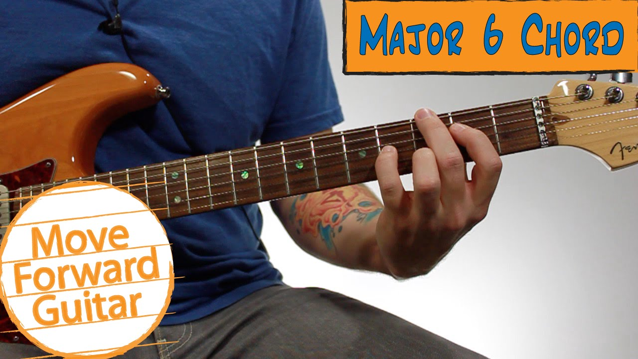 Beginner Jazz Guitar Chords Major 6 Youtube