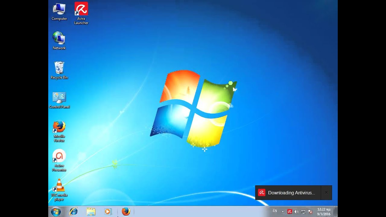 Avira Antivirus Download And Installation In Windows 7 Youtube