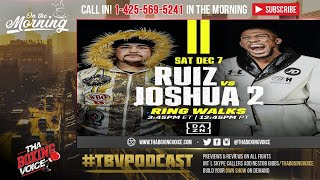 ☎️Ruiz vs Joshua 2🇲🇽Marquez QUESTIONS Ruiz's MINDSET😱Boxing Word🌏 Fat Shaming❓