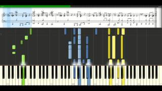 Melanie C - On the horizon [Piano Tutorial] Synthesia