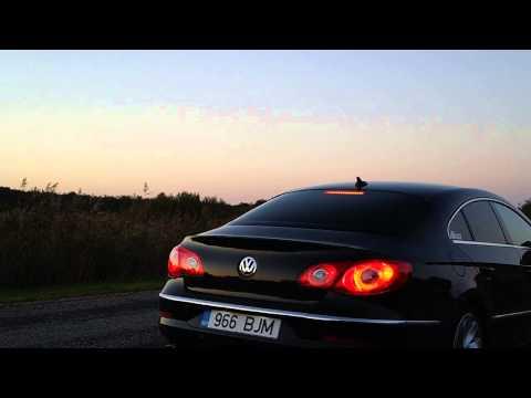 VW Passat CC custom exhaust