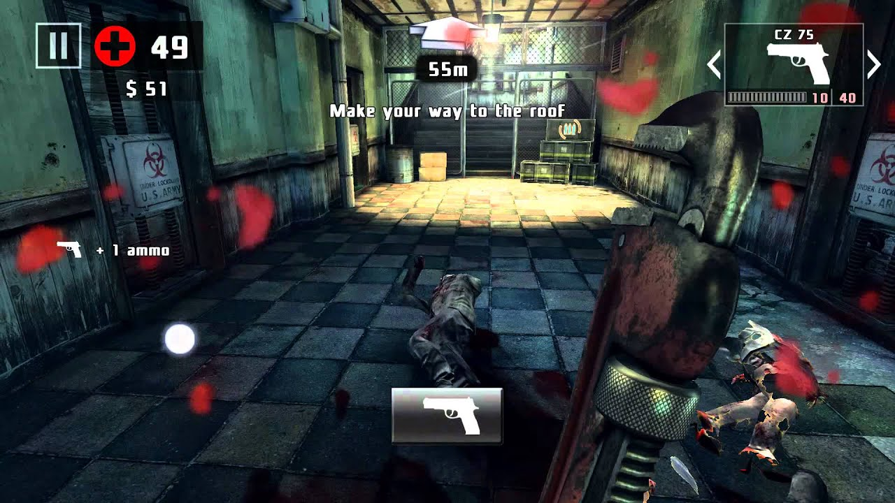 Dead Trigger 2 Next Gen Graphics In 1080p Youtube