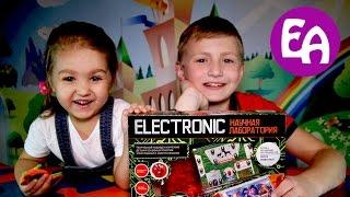 Электронный конструктор Electronic Звуки животных Опыт 1 3 Electronic Designer Electronic