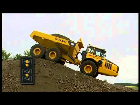 Volvo A40g Articulated Hauler Factory Service And Repair Manual - YouTube