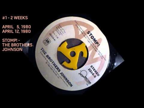 ★ BILLBOARD'S #1 R&B Singles of 1980 ★