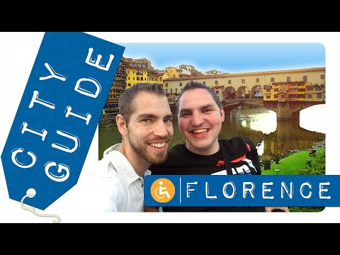 Visiter Florence en fauteuil roulant ! / Wheelchair access in Florence (English subtitles)