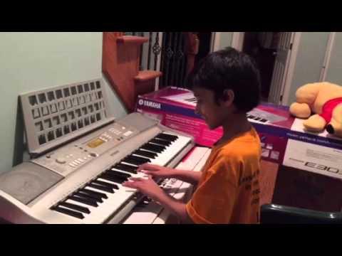 Om Shanthi om piano