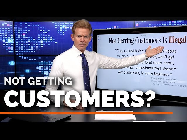 Not Getting Customers... is Illegal?