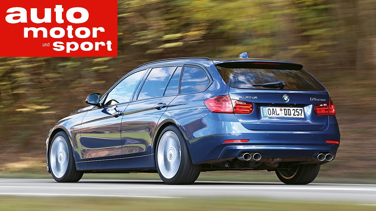 Fahrbericht BMW Alpina D3 Biturbo Touring - YouTube