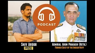 PODCAST: Admiral Arun Prakash on Indian military aviation today