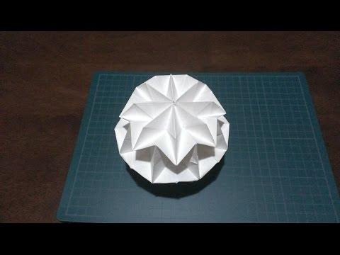 折り紙の マジックボール 折り紙 : youtube.com