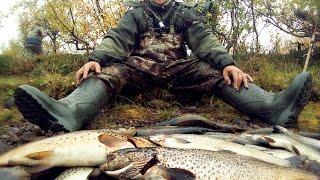 рыбалка видео кольский полуостров