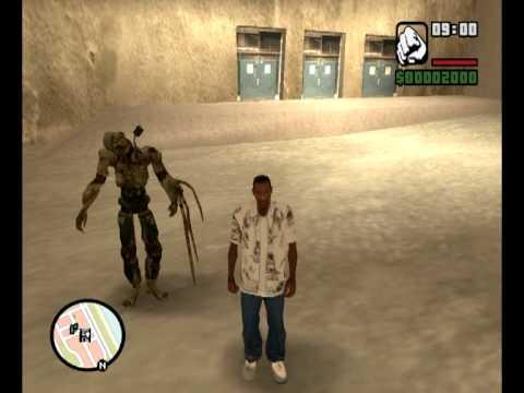 Halo: Flood Combat Form Human for Gta San Andreas - YouTube