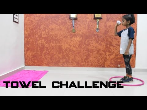 Fun Games for kids at home | towel challenge