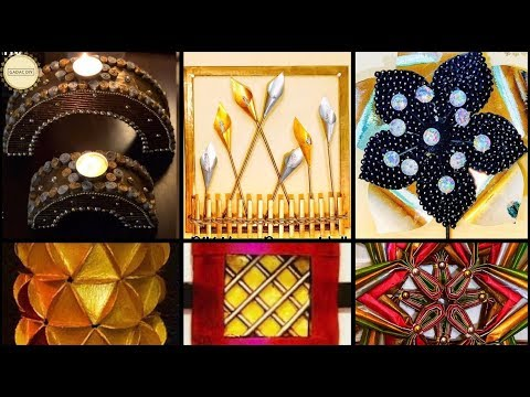 6 Amazing and Glam DIY Room Decor Ideas| gadac diy| Home Decorating Ideas| Craft Ideas| diy crafts