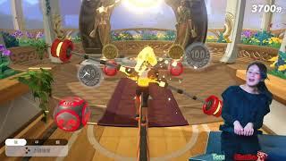 Switch【健身環大冒險】小遊戲闖關 平衡步行 實測試玩 | 2人玩
