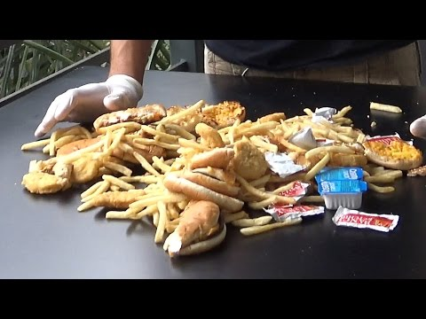 Food Waste in America (Social Experiment)