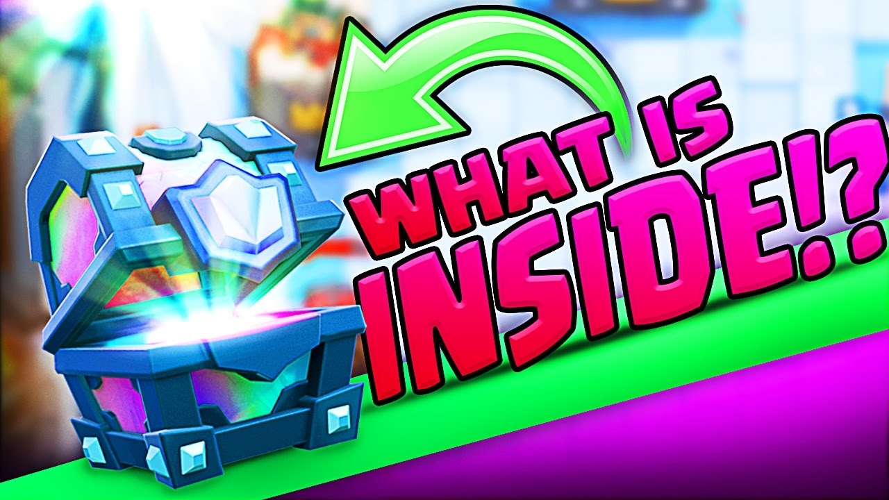 WHAT IS INSIDE THIS LEGENDARY CHEST!  Clash Royale!